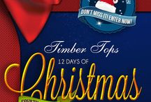 Timber Tops Luxury Log Cabins 12 Days of Christmas / This is our Fourth Annual 12 Days of Christmas! / by Timber Tops Luxury Cabin Rentals