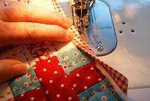 Tutorials.  Sewing.  Quilting.  Bag making. Binding. / by kerry adams
