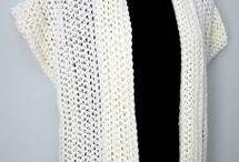 crochet jackets, shrugs etc. / by Sharla Horner