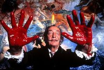 """Salvador Dali /  """"There are some days when I think I'm going to die from an overdose of satisfaction.""""-Salvador Dali     / by : barbarella :"""