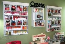 Craft Room Organizing / by Katelyn Eisenhour