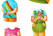 Paper Dolls: Spanish  / Spanish paper dolls; Mexican, S American and Spain. The Loggerhead series is represented. These are not my work. I simply pinned them. Pin what you like for your personal use, no limit.  / by Cheryl Darr