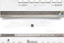 web design / by Peggy Kiki LOVE