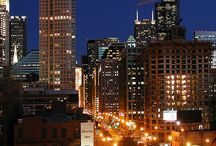 Chicago / Welcome to everything Chicago. City lights, Architecture, people, neighborhoods, history. Enjoy / by Lynn Harris