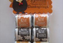 Thanksgiving Craft/Menu Ideas / by Kathy Wheeler