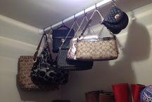Closet organizing / by Sharon Lord