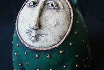 ceramic animal figurines / by Izcreative Point