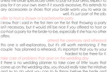Bridesmaids / Bridesmaid 101 / by Heatherly Charmaine