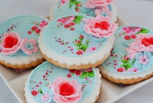 parties...cookie creations... / pretty party cookies / by Debbie Young