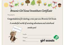 Girl Scouts Brownies / by Mayte Garcia-Lee