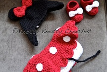Hooked on Crochet- Hats and Photo props / by Marissa Kortus