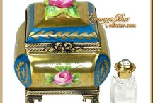 Limoges Boxes / Exquisite Authentic French Limoges Boxes from Limoges, France ~ www.LimogesBoxCollector.com / by Limoges Collector