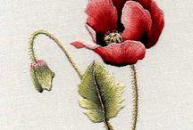 Embroidery, Needlework, aka stitch n bitch / by Carol T Dale