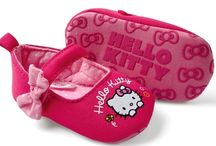 Hello kitty kid shoes / by Kitty White