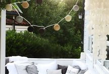 Cozy Outdoor Space / by Heather Hart