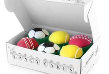 Sports mad! / Biscuits, cakes and chocs for sports fans / by The Biscuiteers