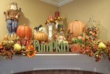 Fall decor ideas / by Martha Cochran