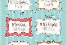 Words of Wisdom / by Mary Brooks