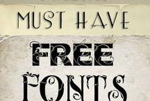 Fonts / by Mary Johnson