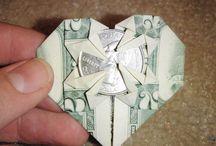 oragami money / by Christopher Jackie Smithey