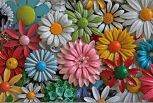 flowers / Beautiful flowers...in all sorts of materials, / by Beth Barrington