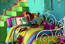 Girls Bedroom / Bright, beautiful, girly bedrooms.  / by Reshia Wheeler