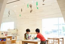 Creative Learning Spaces / Education, day care, school, inspiring learning places, environment as a third teacher, ... / by Sanne Van de Werf
