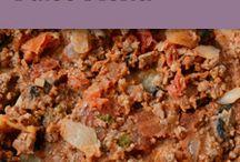 Paleo menu / by Jennifer Konie