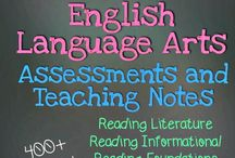 4th grade language arts / Anchor charts and ways to teach English  / by Larisa Frederick