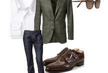 Men's casual / by Kim Mitchell