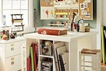 Craft room / by Carrie Stutzman