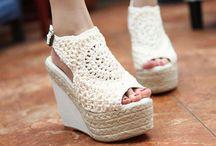 Shoes - crochet / by Sammy Field