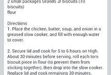 Crock-Pot Cookin' / by Danielle Crick