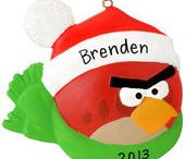 Angry Birds / Angry Birds ornaments and more / by Bronner's CHRISTmas Wonderland