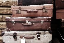 suit cases / by Becky Godfrey