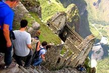 Living List - Visit Machu Pichu, Peru / Visuals and information about Machu Pichu / by Karen Andrews