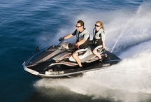 Jet Ski® or WaveRunner™? / The difference between a Jet Ski® and a WaveRunner™ is in the name.  Each is a type of personal watercraft (PWC), and both offer hours of water enjoyment for the whole family. The Kawasaki Jet Ski® was the first successful PWC to hit the personal watercraft market.  It is Yamaha that changed the way we ride PWCs today.  Yamaha came out with the multiple-passenger wave runner that provided a more comfortable ride with one or two-seat styles.   / by rentzio