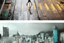 cityscapes / by Heather Huntingford