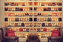 Dreamy closets  / Perfectly organized, filled with fabulous shoes and purses / by Ruthie Schaper