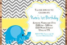 Elephant bday party  / by Kristina Wise