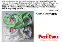 New FuzziBunz One Size! / Come and check out images of our new line of One Size diapers, and see what people are saying about them! / by FuzziBunz