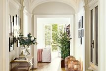Entryways & Hallways / These areas are usually kept functional but BORING.