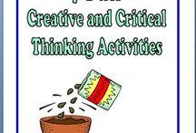 Higher Order Thinking Skills / by Jenifer Stewart