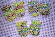 crochet baby stuff / by Karen Boudreaux