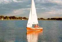 The O'Day Widgeon / We had a red O'Day Widgeon sailboat when I was a kid.  I wrote one into THE GOOD HOUSE and named her Sarah Good, after one of the witches hung in Salem (Goodwife Good). / by Ann Leary