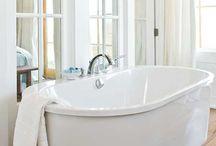 bathroom ideas / by Ellen Atkins
