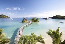 Likuliku Heros / The iconic shots of Fiji's only resort with over-water bures / by Likuliku Lagoon Resort