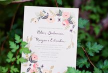 Design : Invitations and Stationery / Design inspirations / by tenthousandthspoon     Jaclyn