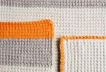 Haken tunisch // tunesian crochet / by rianne