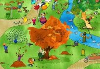 Fall Crafts, Games, Activities and Pictures for Pre-K and Kindergarten / by KiGaPortal
